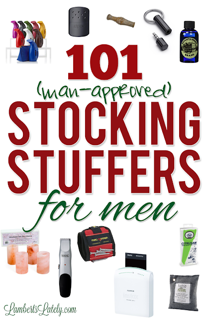 101 stocking stuffer ideas for men lamberts lately Unique stocking stuffers adults