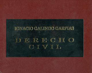 Derecho Civil, Ignacio Galido Garfias