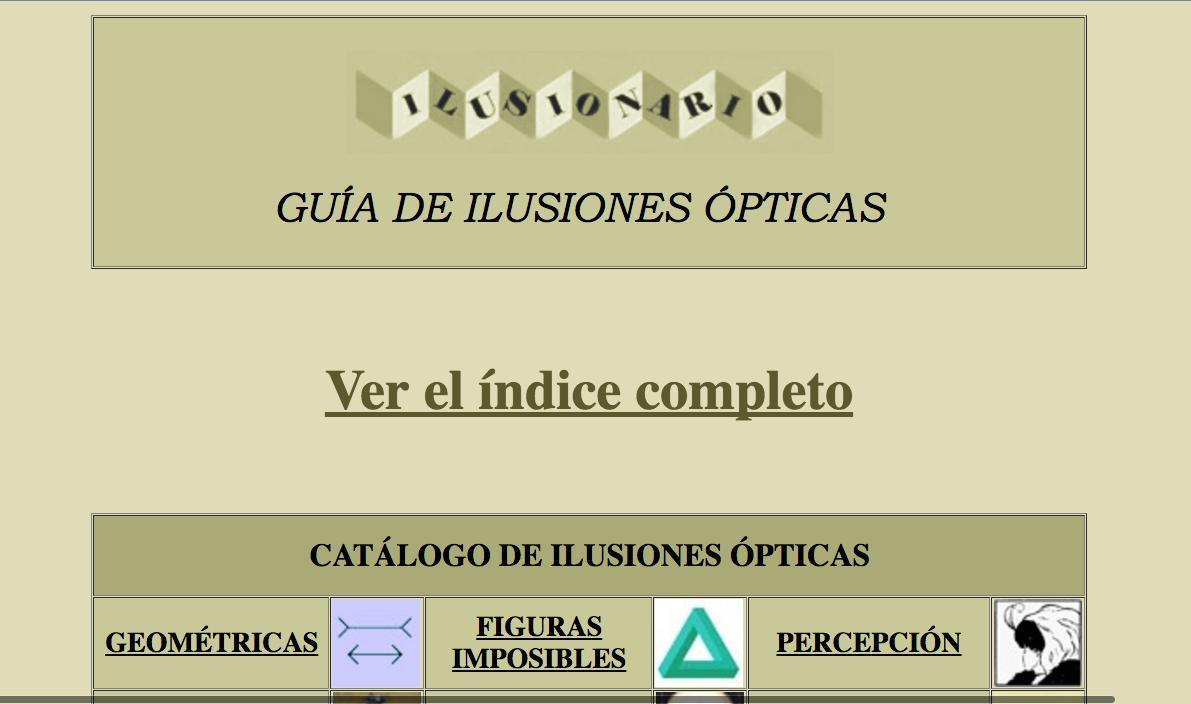 Crearte dossier sobre ilusiones pticas - Figuras geometricas imposibles ...