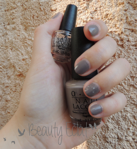 OPI Berlin there done that Pirouete my Whistle
