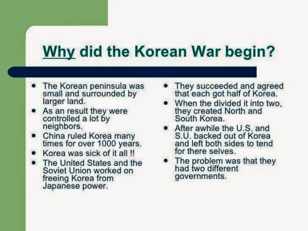 Taipei Signal Army Korean War Causes Combatants