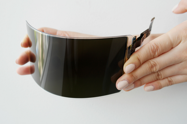 SAMSUNG reveals 'unbreakable' flexible OLED smartphone panel