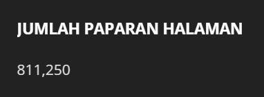 Seriously, 800K? Macam Tak Percaya Pulak.