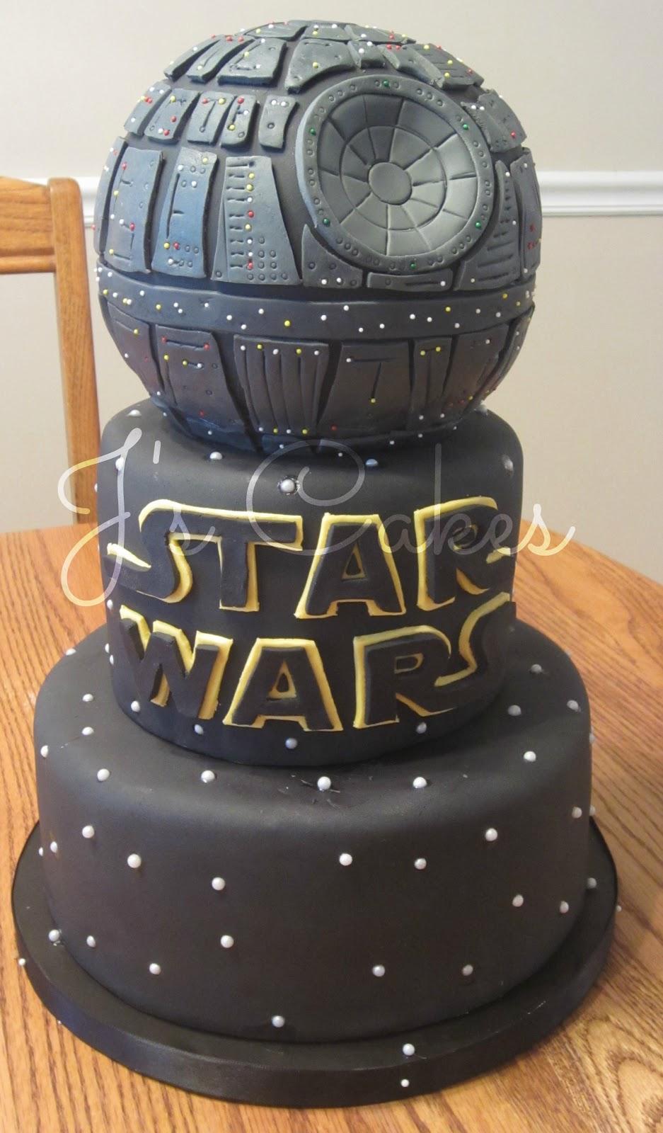 J's Cakes: Star Wars Death Star Cake