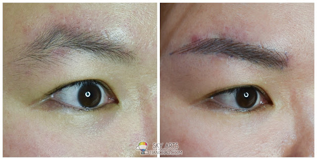 Ivy Brow Design Eyebrow Embroidery for woman - Left Eye
