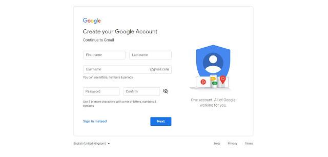 gmail signup, gmail login, create gmail account