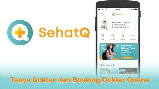 Booking dokter di sehatQ.com