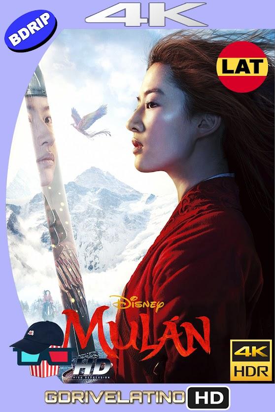 Mulán (2020) BDRip 4K UHD HDR Latino-Ingles MKV