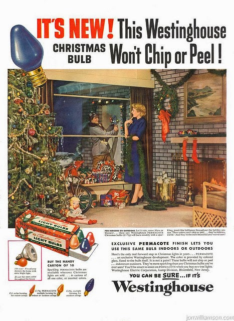 Bad In Stein 30 Vintage Christmas Ads From The 1950s ~ Vintage Everyday