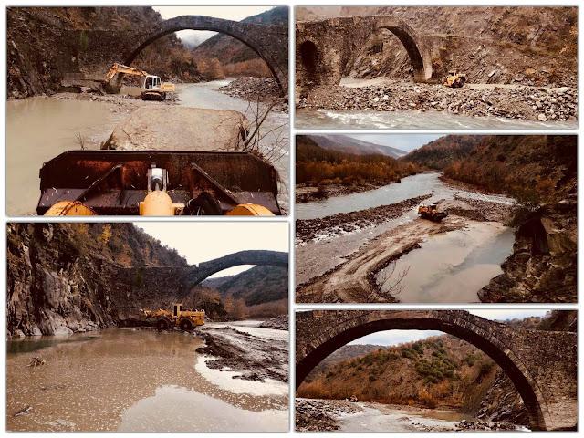 Γιάννενα: Έργα προστασίας στο ιστορικό γεφύρι του Παπαστάθη