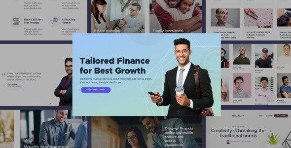 Best Financial and Accounting Responsive Templates