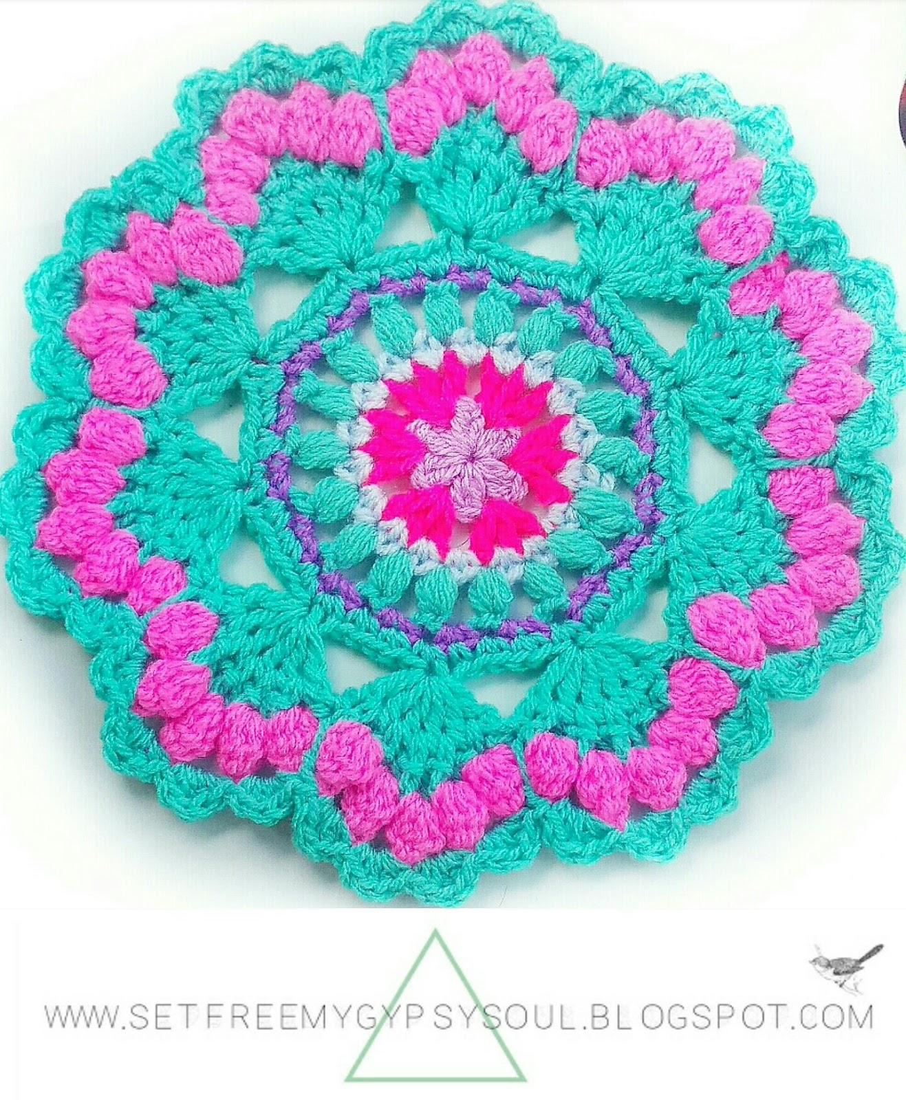 Crochet Crown Seashell