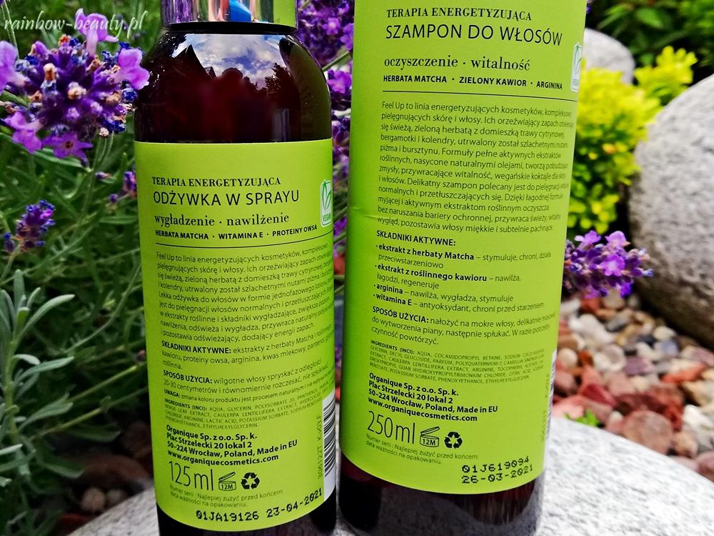 organique-feel-up-szampon-odzywka-opinie-blog-sklad