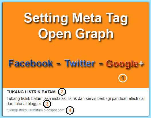 Meta tag open graph