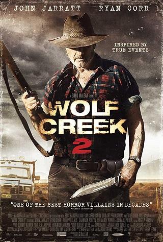 Wolf Creek 2 2013 Poster