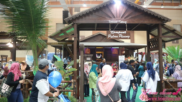 Kampung Pulau Pisang MAHA 2018
