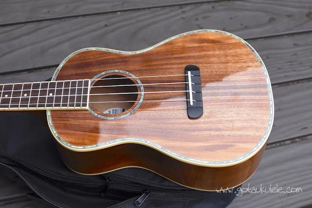 Fender Montecito Ukulele body