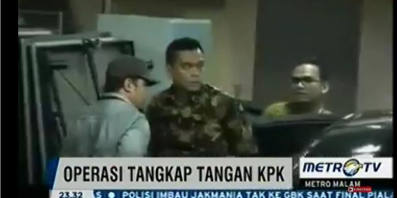 M Sanusi DPRD DKI Tertangkap Tangan (OTT), KPK Ikut Amankan Mobil Jaguar Milik M Sanusi