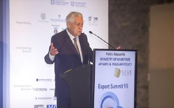 Φ. Κουβέλης: Στρατηγικός για τις εξαγωγές ο ρόλος του λιμανιού της Θεσσαλονίκης