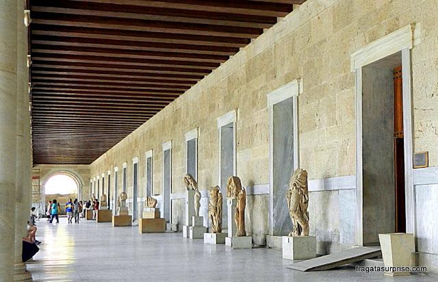 Estoa de Átalo, sede do Museu Ágora Antiga de Atenas