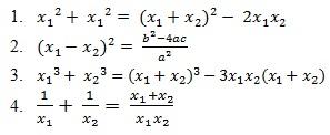 √ Persamaan Kuadrat (Lengkap) : Pengertian, Cara, Rumus, Jenis & Sifat