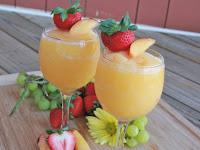 Moscato Peach Wine Slushies