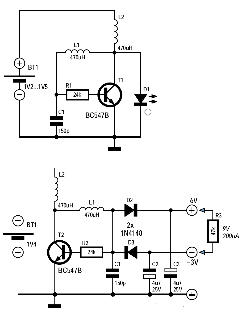 one transistor voltage converter circuit diagram rh eprojectsideas blogspot com step down voltage converter circuit diagram voltage to frequency converter circuit diagram