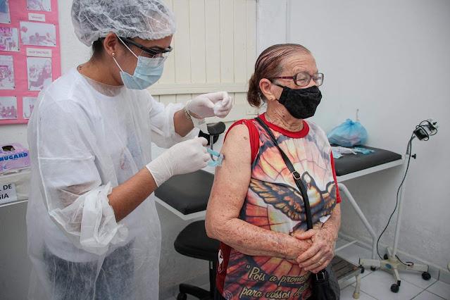 Pernambuco bate recorde de pessoas vacinadas em um só dia
