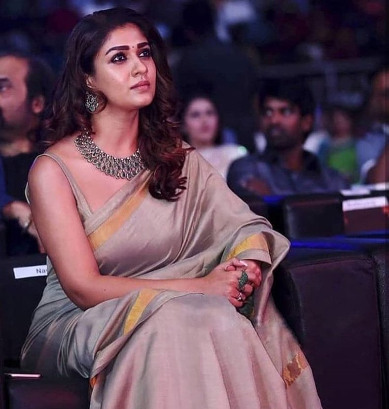 Nayanthara S Chicest Saree Looks Of 2018 Indian Beauty And
