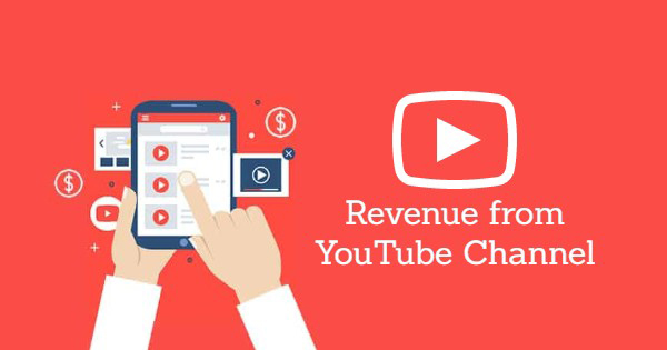 revenue from youtube channel