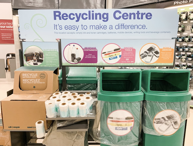 Staples Canada Superpower your School Contest - recycling program