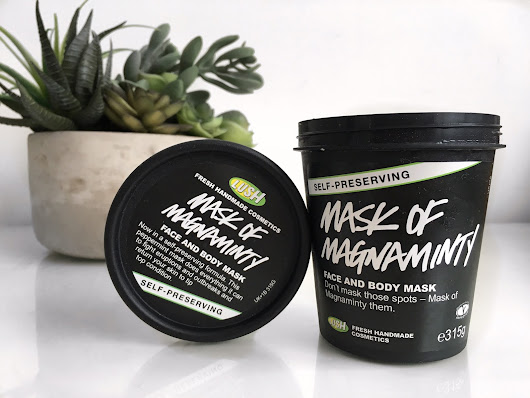 Lush Cosmetics - Mask of Magnaminty (Self - Preserving)