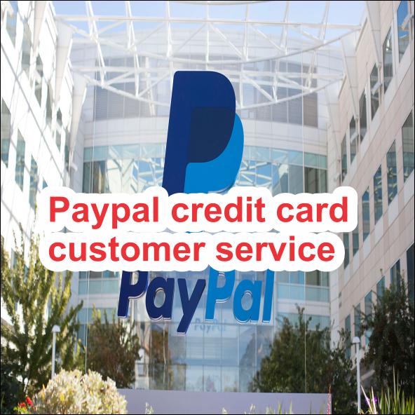 Paypal credit card customer service