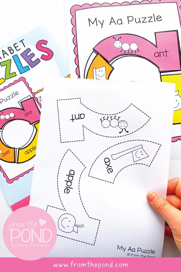 Kindergarten Letter Activities