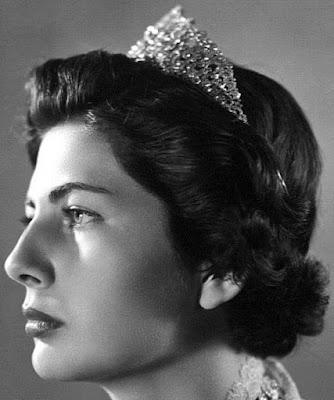 diamond tiara iran princess soraya pahlavi
