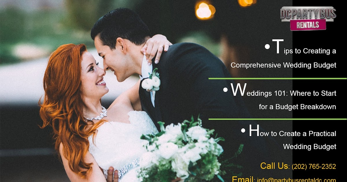 Tips to Creating a Comprehensive Wedding Budget | Party Bus