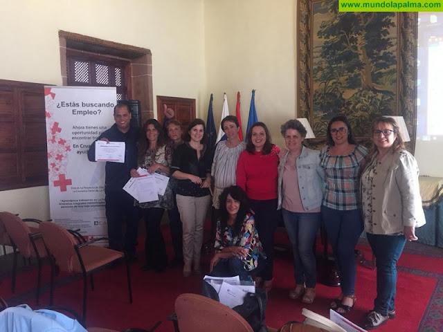 """Finaliza el proyecto """"Aprendamos trabajando"""" en La Palma, subvencionado por el Cabildo Insular y el Fondo de Desarrollo de Canarias"""