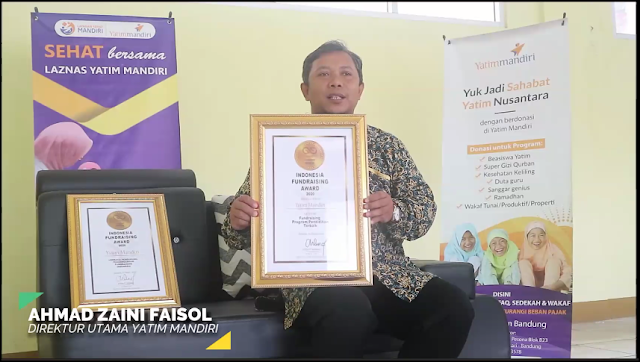 Kategori Fundraising Program Pendidikan Terbaik: Yatim Mandiri