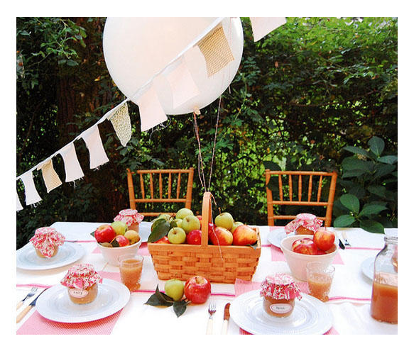 Juneberry Lane: Backyard Beautiful: Entertaining Under the ...