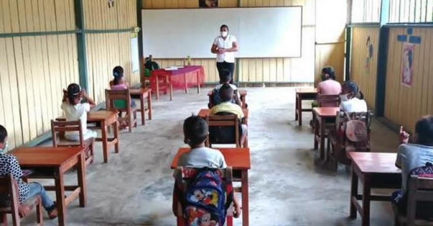 MINEDU: Solo 19% de colegios podrían iniciar clases semipresenciales el 15 de marzo