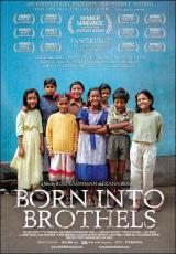 """Carátula del DVD: """"Los niños del Barrio Rojo"""""""