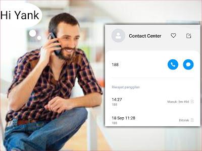 Ditelpon Contact Center Telkomsel 188, Kenapa