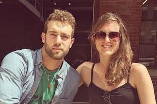 Daniel Norris With His Sister Melanie Norris