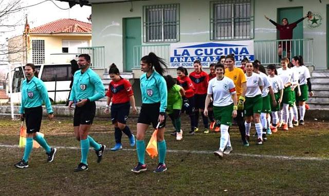 Β´ Εθνική Γυναικων.Νίκη μεγάλης σημασίας πέτυχε η γυναικεία ομάδα του Αγροτικού Αστέρα Αγίας Βαρβάρας επι της Ροδοπης με 2-0