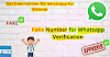 Use WhatsApp Without A Mobile Number? Fake WhatsApp number