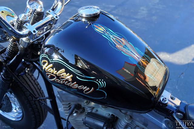 Harley Davidson By Trijya Custom Motorcycles Hell Kustom