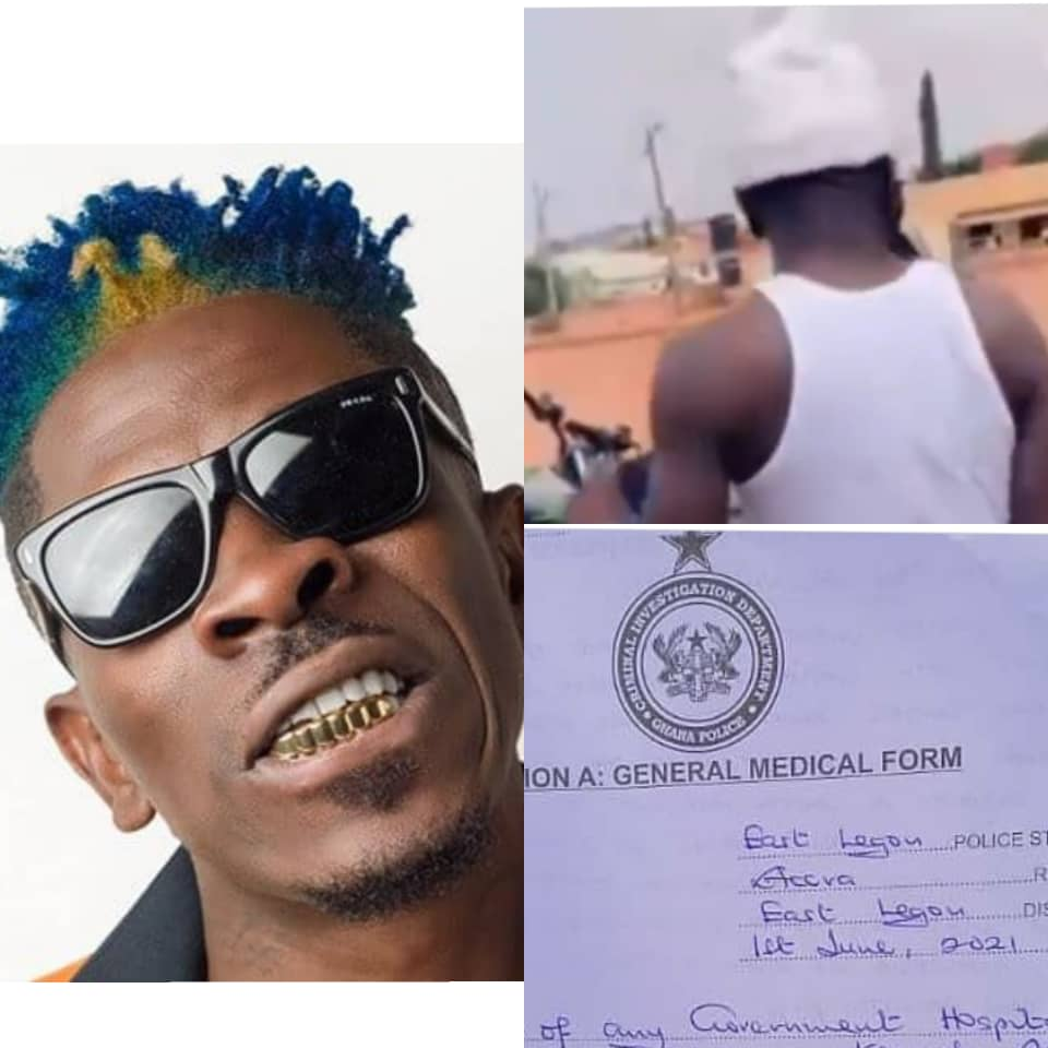 Shatta Wale Did The Unexpected After The Constructor Threatened To Send Him To Court.