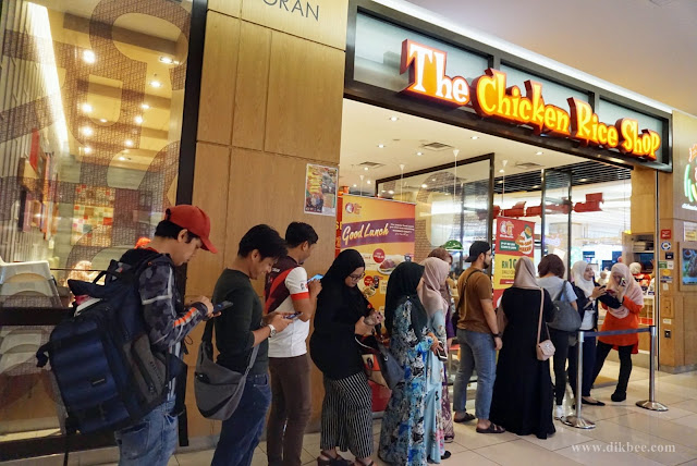 Makan Tengah Hari Murah Di The Chicken Rice Shop