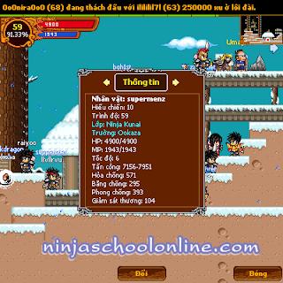 hack ninja school online 122