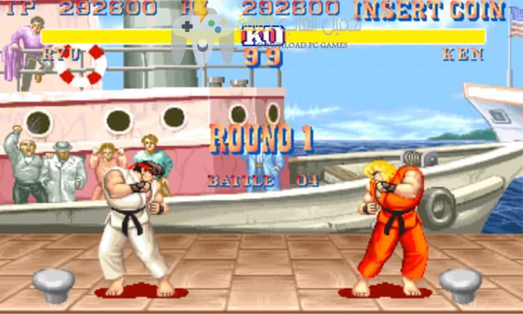 تحميل لعبة قتال الشوارع 2 Street Fighter للكمبيوتر